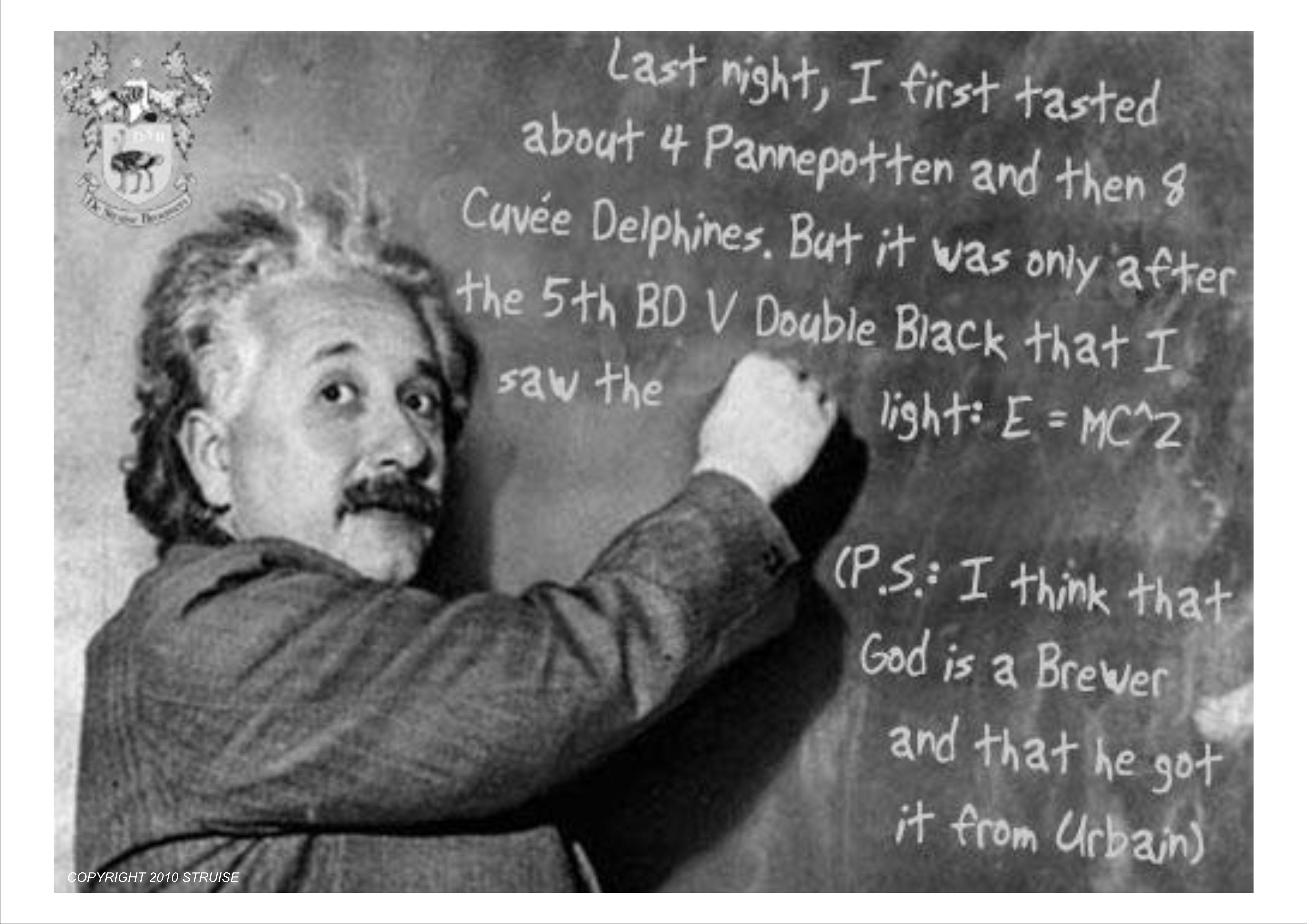 Einstein by Werner van Obbergen
