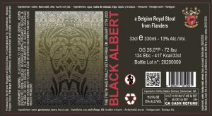 Black Albert 13% Abv – 24X33cl