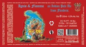 Ignis et Flamma 6,5% Abv – 24X33cl