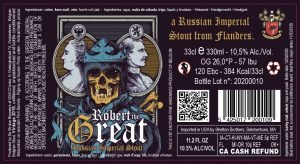 Robert The Great 10,5% Abv – 24X33cl