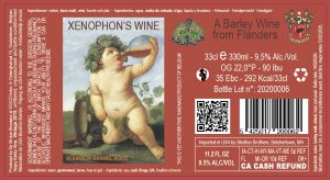 Xenophons' Wine 9,5% Abv – 24X33cl