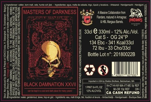Black Damnation XXVII - Masters of Darkness 2