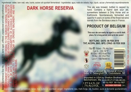 Dark Horse Reserva 2