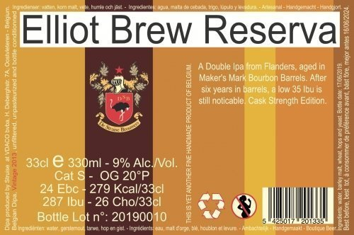 Elliot Brew Reserva Maker's Mark (2013) 2