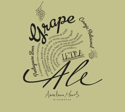Letra Grape Ale Loureiro 2