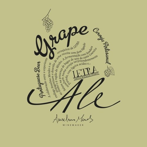 Letra Grape Ale Loureiro 116