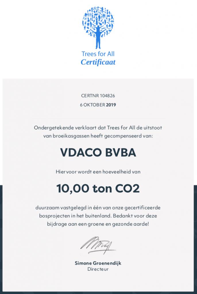 CO2 besparen, deel 8 (2019) 44