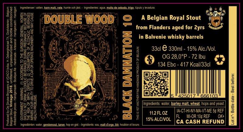 Black Damnation 10 - aka Double Wood 2