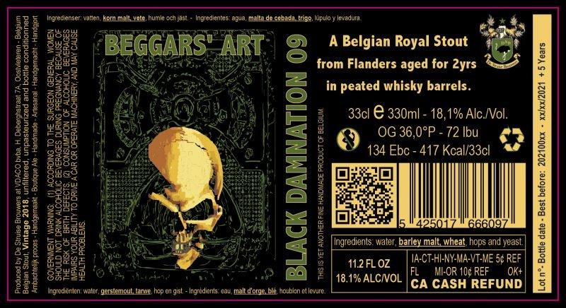 Black Damnation 09 - aka Beggars' Art 2
