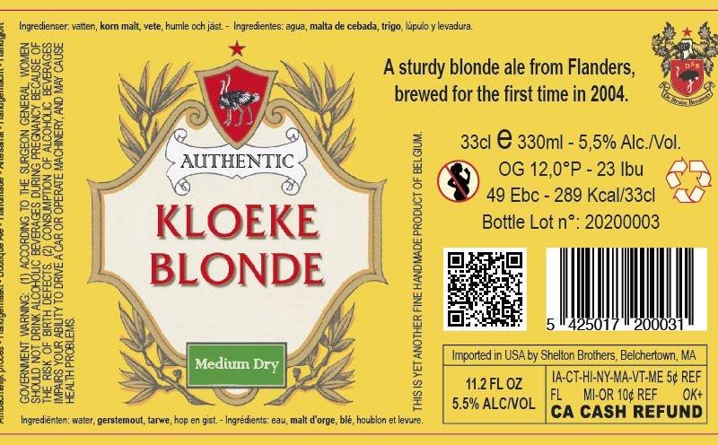 Kloeke Blonde 6