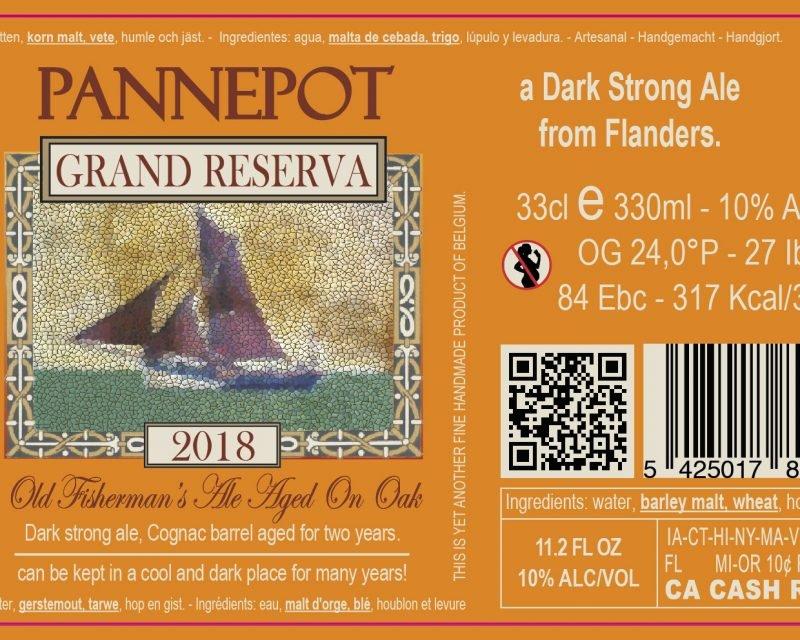 Pannepot Grand Reserva - Cognac barrel aged 8